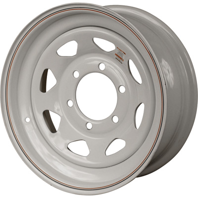 """FREE SHIPPING - High-Speed Radial Trailer Wheel, Spoked, ST205/75-15 and ST225/75-15"""