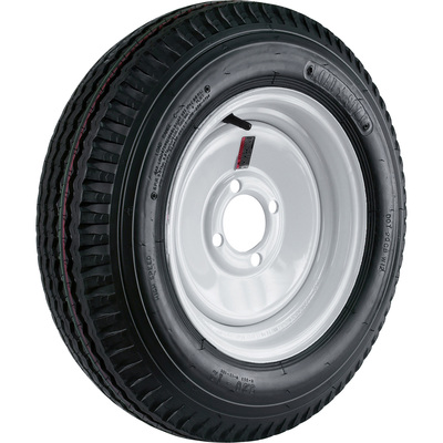 4-Hole High Speed Standard Rim Design Trailer Tire Assembly - 21.5in. x 5.30 x 12