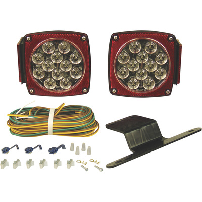 Blazer International LED Trailer Light Kit - Custom Clear Lens