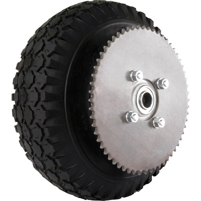 Low Speed Pneumatic Tires + Wheels