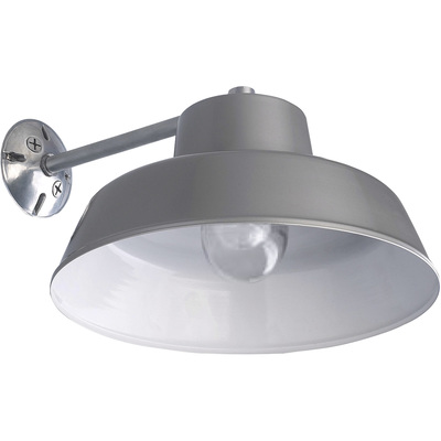 Canarm Ceiling/Wall Barn Light with Glass Bulb Shield 14in. Dia., 120 Volts, 100 Watts, Model# BL14CWS O