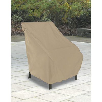 """Classic Accessories Standard Patio Chair Cover - Tan, Model# 58912"""