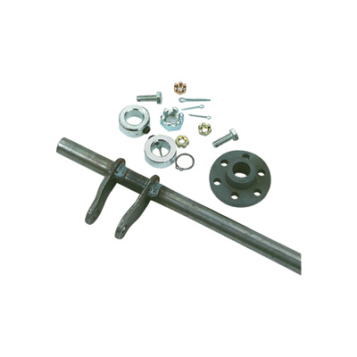 Azusa Steering Shaft and Hub Kit - 22in. Length