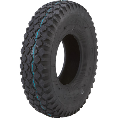 Kenda Studded Tread Replacement Tubeless Tire for Pneumatic Assemblies — 16in. x 480-8