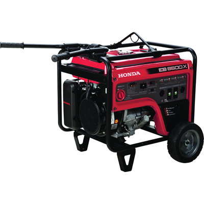"""Honda EB6500 iAVR Series Portable Generator - 6500 Surge Watts, 5500 Rated Watts, CARB-Compliant, Model# EB6500X1AT"""
