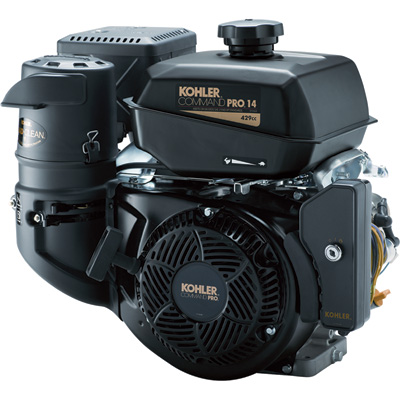 """Kohler Command Pro Horizontal Engine - 429cc, 1in. x 3.49in. Shaft, Model# PA-CH440-3031"""