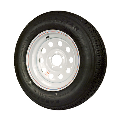 """FREE SHIPPING - Martin Wheel Speed 8-Ply Radial Trailer Tire & Assembly - ST205/75R15, Modular, Model# DM205R5D-5MI"""