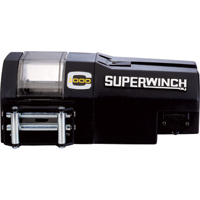 Superwinch 12V DC Powered Electric Crane Winch — 1000-Lb. Capacity, Model# C1000