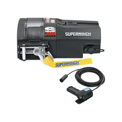 """Superwinch S-Series 12 Volt Winch - 3000-Lb. Capacity, Model# S3000"""