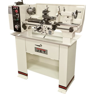JET Belt Drive Bench Lathe with Stand - 9in. x 20in., Model# BD-920W