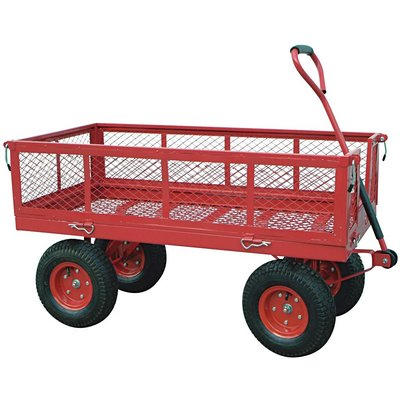 """Northern Industrial Tools Jumbo Wagon - 48in.L x 24in.W, 1400-Lb. Capacity"""