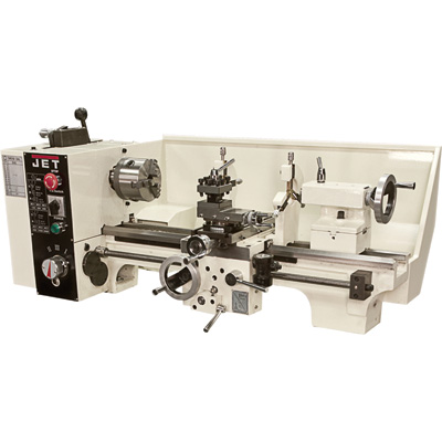FREE SHIPPING - JET Machinists Belt Drive Bench Lathe - 9in. x 20in. Size, Model# 321376