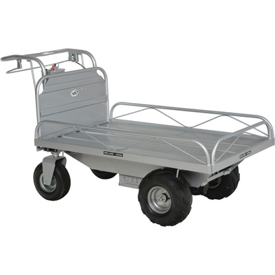 """Vestil Off-Road Traction-Drive Platform Cart, Model# OROAD-400"""