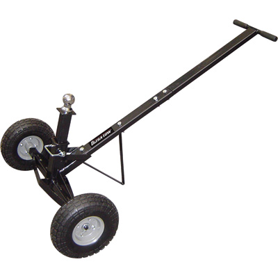 Ultra-Tow Deluxe Adjustable Trailer Dolly with Flat-Free Tires — 600-Lb. Capacity