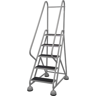 Cotterman Steel (Step) Ladder - 45in. Max. Height