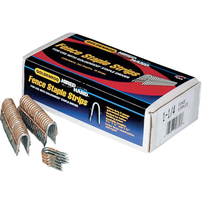 Goldenrod Hired Hand Fence Staples - 1 3/4in.