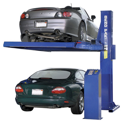FREE SHIPPING - BendPak Single Post Parking Lift With Deck - 6000-Lb. Capacity, Model# PL6SP