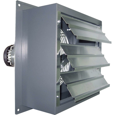 """Canarm Explosion-Proof Totally Enclosed Exhaust Fan - 12in., 1/3 HP, 1,640 CFM, Model# SD12-XPF"""