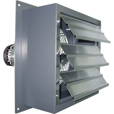 """Canarm Explosion-Proof Totally Enclosed Exhaust Fan - 24in., 1/3 HP, 5,500 CFM, Model# SD24-XPF"""