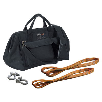 WARN Carry Bag & Rigging Kit For PullzAll Winch/Hoist Tools — Model#  685014