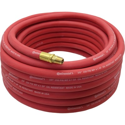 """Goodyear Rubber Air Hose - 3/8in. x 25ft., Red"""