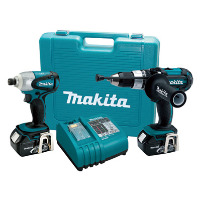 """FREE SHIPPING - Makita 18 Volt Lithium-Ion Cordless Combo Kit - 2-Pc. Kit, Model# XT218"""