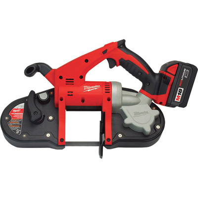 FREE SHIPPING — Milwaukee M18 Cordless Compact Band Saw Kit — 18V, Model# 2629-22