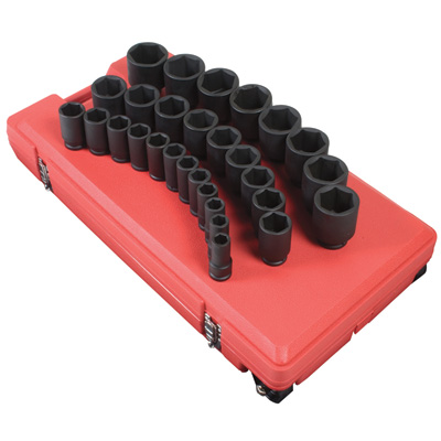 Sunex Tools Deep Impact Socket Set — 29-Pc., 3/4in. Drive, SAE, Model# 4695