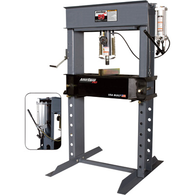 """FREE SHIPPING - AmerEquip Manual Shop Press - 50 Ton, Model# 212050"""