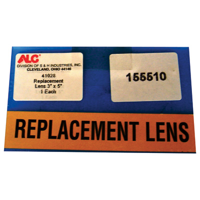 ALC 3in. x 5in. Replacement Lens - Model# 41028