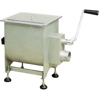 Kitchener Stainless Steel Meat Mixer - 6-Gallon Capacity