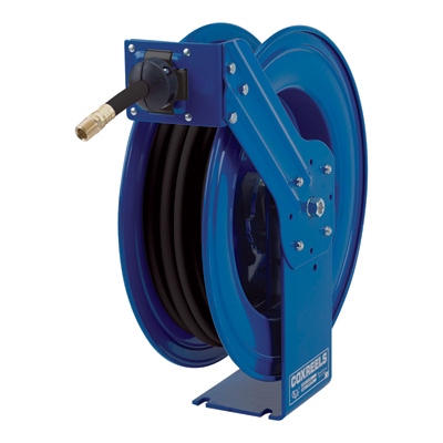 Coxreels Heavy-Duty Medium & High-Pressure Hose Reel — For Oil, 3/4in. x 35ft. Hose, Model# MP-N-535