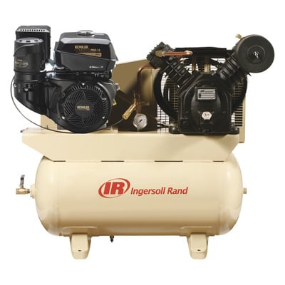 FREE SHIPPING — Ingersoll Rand Air Compressor — 14 HP, Model# 2475F14G
