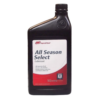 FREE SHIPPING — Ingersoll Rand T-30 Select Compressor Oil — 1 Liter Bottle