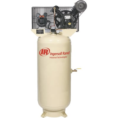 FREE SHIPPING — Ingersoll Rand Type-30 Reciprocating Air Compressor