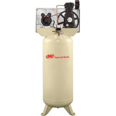 """FREE SHIPPING - Ingersoll Rand Electric Stationary Air Compressor - 5 HP, 18.1 CFM @ 90 PSI, 230 Volt, Model# SS5L5"""