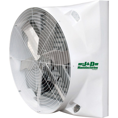 """J&D Sales Exhaust Fan - 72in., 42,811 CFM, 115/230V, Model# VMSA72A5N31"""