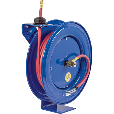 """Coxreels Heavy-Duty Safety Air/Water Hose Reel with Hose - 3/4in. x 50ft., Model# EZ-SH-550"""
