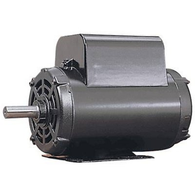 Leeson Reversible Electric Motor With Manual Overload Protection - 1 HP