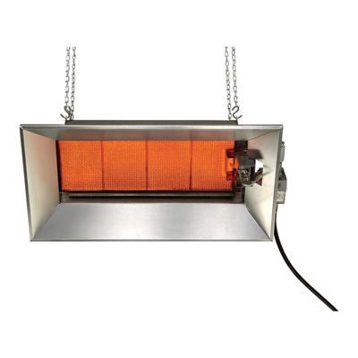 SunStar Heating Products Infrared Ceramic Heater — NG, 52,000 BTU, Model# SGM6-N1A