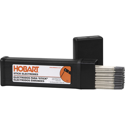 Hobart Stick Welding Electrodes — 7018, 3/32in. x 14in.L, 5-Lb. Container, Model# 770482
