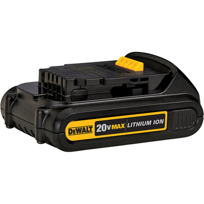 """FREE SHIPPING - DEWALT 20 Volt MAX Compact Lithium-Ion Battery - 1.5Ah, Model# DCB201"""