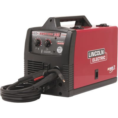 """FREE SHIPPING - Lincoln Electric Easy MIG 140 Flux-Core/MIG Welder - 115V, 140 Amp, Model# K2697-1"""
