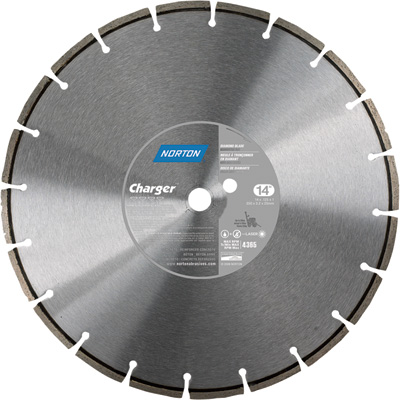 FREE SHIPPING — Norton Concrete Cutting Blade — 14in. Dia, Diamond