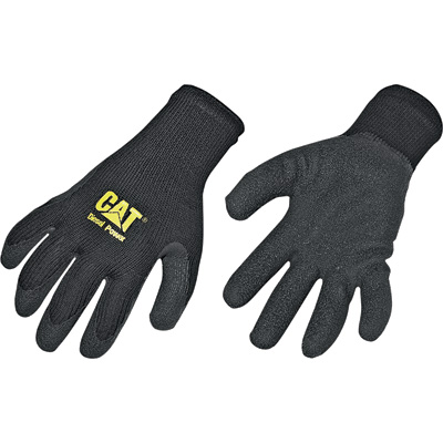 CAT Coated String-Knit Work Gloves - Large