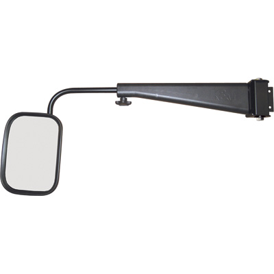 K & M Adjustable Tractor Cab Mirror — Fits International 86-88 Series Tractors, Model# 3135