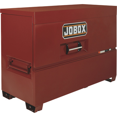 Jobox 74in. Piano Lid Box — Site-Vault Security System, 56.5 Cu. Ft., 74in.W x 31in.D x 50in.H, Model# 1-689990