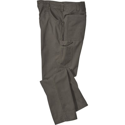 FREE SHIPPING Gravel Gear Men's Ripstop Carpenter Pant with Teflon - Moss, 44in. Waist x 32in. Inseam