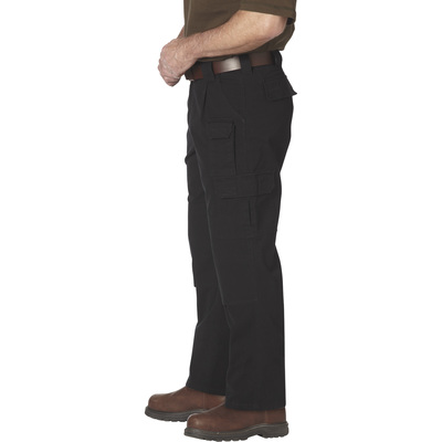 FREE SHIPPING - Gravel Gear Men's 7-Pocket Tactical Pants with Teflon - Black, 36in. Waist x 32in. Inseam