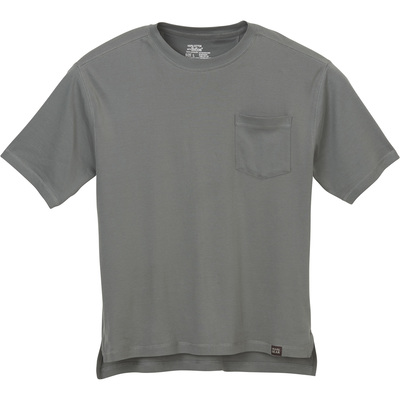 Gravel Gear Men's Warrior Stain-Resistant Pocket T-Shirt with Teflon - Slate, 3XL